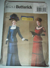 Butterick B4212 Misses Edwardian Costume Pattern Victorian Dress Pattern 1018