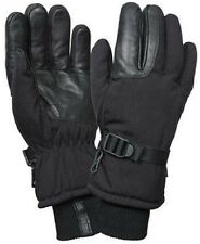 Insulated Gloves Black Waterproof & Insulated Long Cuffed Winter Gloves 3559