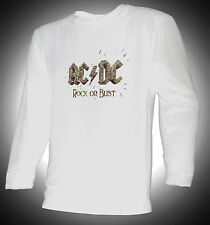 ACDC - ROCK OR BUST - 100% COTTON T-SHIRT - ANGUS YOUNG - AC/DC!!!