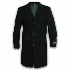 Mens Wool and Cashmere Blend Coat Warm Winter Casual Formal Long Overcoat