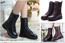 Women's Autumn and Winter restore ancient ways Martin boots chalaza Boots