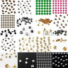 Lot of style Pyramid Rivet Spikes Studs DIY Punk Bag Belt Bracelet Leathercraft