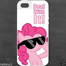 My Little Pony Pink Apple iPhone 4S 5 5S 5C 6 6 Plus Galaxy S3 S4 S5 Case Cover
