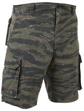 Tiger Stripe Military Vintage Army Paratrooper Shorts Cargo Shorts 2635