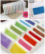 1x Child DIY Craft Oil Based Ink Pad Rubber Stamps Fabric Wood Paper Scrapbook