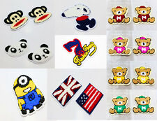 Free ship Embroidered Terry Cloth Sew On Patch Sew Motif Appliques Cute Style