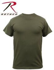 Olive Drab Green Moisture Wicking Tactical Military Short Sleeve T-Shirt 9505
