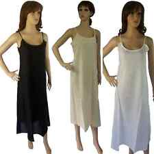 Long COTTON SLIP Petticoat NEW Ladies Size 12 14 16 18 20 Layering Dress Kaftan