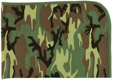 WOODLAND Infant Receiving Blanket Camouflage Pattern Cotton Baby Blanket 2450