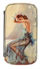 disguised™ Pin Up Girl Blue Dress Cover Case Burlesque Movie Poster - All Phones
