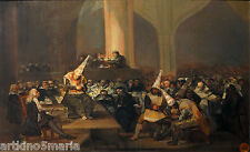 FRANCISCO GOYA SCENE OF THE INQUISITION REALISM ART GICLEE PRINT ART CANVAS