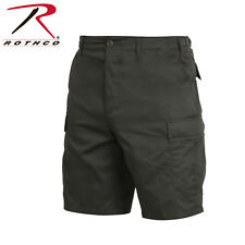 OD GREEN Military BDU Combat Cargo Shorts Poly/Cotton 65200