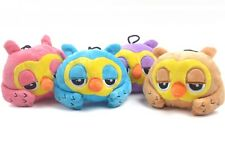 1Pc New Dog Toy Pet Puppy Chew Play Squeaker Sound Plush Owl Shape Hot