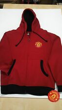 Manchester United Hoodie Official Sweatshirt Color-Red