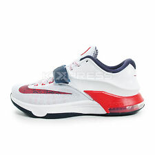 Nike KD VII EP [653997-146] Basketball Independence Day White/Navy-Red