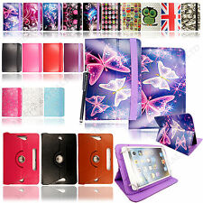 "New Universal Leather Stand Case Cover For 8"" 8 Inch Tab Android Tablet + Stylus"