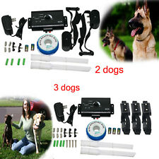 New 2015 Underground Electric Dog Fence Waterproof Shock Collars 2&3 Dogs