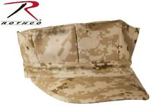 DESERT DIGITAL CAMO Military Style MARINE & 8 Point Patrol Fatigue Hat Cap 5673