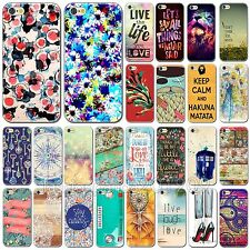 Fashion Various Flowers Scenery Hard Back Case Cover For Apple iPhone 6 6 Plus