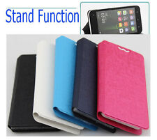 "Smart Phone Case PU Leather Flip Cover Pouch for Landvo L200 5"" Android 4.4 3G"