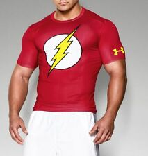 RARE Under Armour Alter Ego The Flash Justice League Compression Shirt