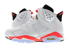 "Men Air Jordan 6 Retro ""Infrared"" White/Red 384664-123"