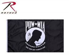 POW * MIA Flag Deluxe Heavyweight Double Stitched 3' x 5' Grommets Flag 1563
