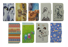Luxury Wallet cartoon card holder magnetic case Cover For Samsung iPhone LG
