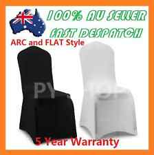New Black White Lycra Spandex Stretch Chair Covers Wedding Party Event Banquet