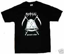 MIDNIGHT SHIRT inepsy boulder toxic holocaust satans satyrs barbatos patch cd lp