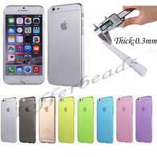 """For iPhone 6 4.7"""" / Plus 5.5"""" Ultra Thin Slim Soft Clear Skin Case Cover SALE"""