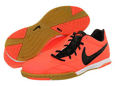 Nike Total 90 Shoot IV IC Indoor 2012 Soccer Shoes Mango - Black Kids Youth Jr