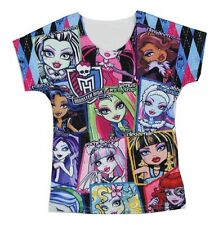 Monster High Baby Kids Girl T-shirt Tops 3-10Y #T008