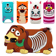 Cartoon Silicon Rubber Gel Skin Case Cover For All Apple,Samsung Galaxy Models