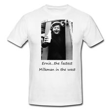 T SHIRTS-BENNY HILL-ERNIE THE FASTEST MILKMAN...-FUNNY,-AVAILABLE IN 6 COLOURS
