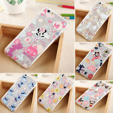 New Cute Cartoon Crystal Disney Hard PC Clear Case Cover for iPhone 6 Plus 5 5S