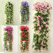 silk hydrangeas artificial flowers vine home wedding grape kitchen decoration