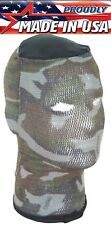 Camouflage or Black Tactical Spandoflage Head Net Ski Mask Hunting Face Mask