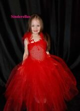 Bridesmaid Flowergirl Pageant Christenings Girls Tutu dress Princess Age 1-11