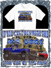 FORD 4X4 TRUCK PULLS CHEVY BIG DOG MUD BOGGING T-SHIRT NEW IN SIZE SMALL-4XL