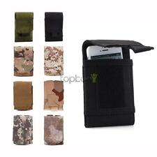 Mobile Phone Bag Army Hook Loop Belt Pouch Holster Cover Case For iPhone 6 5s
