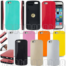for iphone 6 4.7 inch shockproof dual layer hybrid hard flexible case cover line