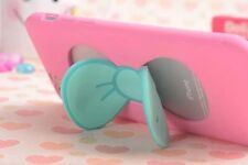 3D new Cute BOW pink stand soft Case cover for iphone 7 6 6S plus samsung galaxy