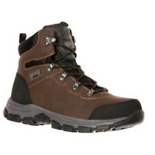 Magnum Austin Mid ST WP Steel Toe Waterproof Safety Work Boots Coffee 5549