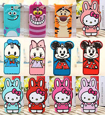 Cute 3D Cartoon Characters design Silicone Rubber Case Cover For HTC Desire 610