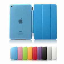 Slim Magnetic Leather Smart Cover For APPLE iPad with Hard Back Case Sleep/Wake