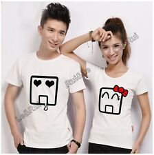 men women couple t shirt summer clothes tops for 2015 designer brand printed T50