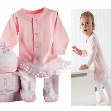 Baby Girl Angel Ballet Costume Suit Dress Outfit Cloth+Hat Set Newborn 0-12M