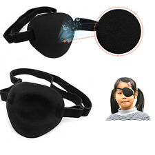 Medical Use Concave Eye Patch Foam Groove Adjustable Strap Single Eyeshades COCO