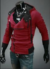 New Vogue Assassin's III Desmond Miles Oblique Zip Creed Hoodies Jackets Outwear